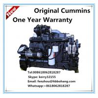 China 130KW diesel motor Dongfeng Cummins water cooled turbo motor on sale