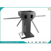 Automatic Tripod Turnstile Gate,304 Stainless Steel Turnstyle For Bus Station Access Manufactures