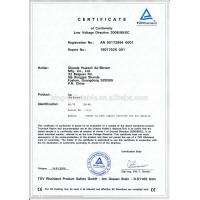 King Inflatable Co.,Limited Certifications