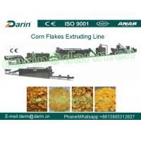 Full Automation Corn Flakes Processing Machine Stable Large Capacity Manufactures