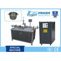 Inox Stainless Steel Spot Welding , Cookware Pan Bracket Spot Welding Machine Manufactures