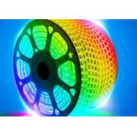 Rgb Led Flexible Strip Lights 7.2w Ip67 30 Pieces Led 22lm For Home Decoration Manufactures