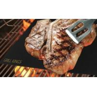 Non-stick high temperature PTFE teflon BBQ cooking grill mats Manufactures
