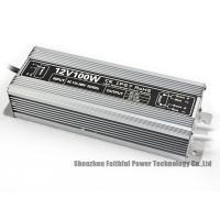 Friendly Design 12vdc 100w Power Supply Outdoor Output Low Ripple / Noise Manufactures
