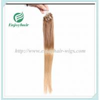 """Micro ring loop hair extensions 16""""-26""""L Malaysian remy hair 27# color hair Manufactures"""