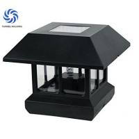 Outdoor Solar Post Cap Lamp 150 Lumens Beautiful Design Solar Pillar Lamp Manufactures