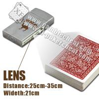 China Classic zippo lighter camera|double lenses|poker scanner on sale
