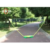 Quality Easy Taking Colored Portable Badminton Set 1.55M Net Height PC / PP Material for sale