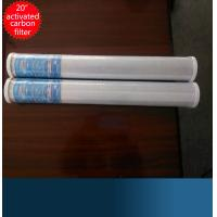 "20"" CTO Activated Carbon Water Filter Cartridge CTO Filter Cartridge Manufactures"
