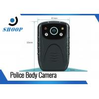 "Compact Motion Detection Body Worn HD Camera For Police 2.0"" LCD Display Manufactures"
