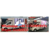 Quality China smallest P8 mobile LED advertising truck for sale, Factory sale Chang'an 65KW gasoline outdoor mobile LED truck for sale