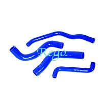Quality FORD FALCON EF EL 6CYL 4.0 94-98 Silicone Hose Kits , Flexible Rubber Radiator Hose Pipe for sale
