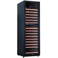Compressor Wine Cooler Commercial Refrigerator Freezer With Upper And Lower Temperature Manufactures