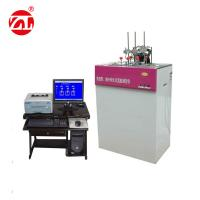 RT to 300 Degree Plastic HDT VICAT Softening Point Temperature Tester , Plastic Molds HDT Vicat Tester Manufactures