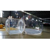 0.8MM PVC Transparent Inflatable Bubble House Inflatable Tent For Outdoor Event / Camping Manufactures