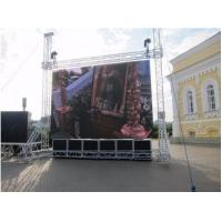 P4 1R1G1B Outdoor SMD Led Display 512X512MM Cabinet Meanwell Power Supply Manufactures