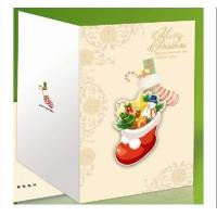 Custom Handmade Beautiful Decoration Merry Christmas Printable Greeting Cards Manufactures