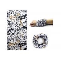 Funny Design Motorcycle Head Wraps , Comfortable Neck Tube  Low Fiber Properties Manufactures