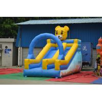 Kindergarten Family Yard Inflatable Sports Games , Bear Shape Manufactures