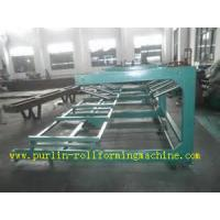 Colored Metal Surface Sandwich Panel Automatic Stacking Machine 0.4mm - 0.8mm Manufactures