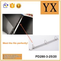 Youxin office stationery bright nicekel plate metal 3-ring binder mechanism