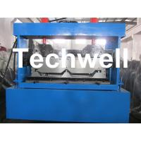 Standing Seam Roof Panel Roll Forming Machine With Hydraulic Cutting Device for Standing Seam Roof Wall Cladding Manufactures