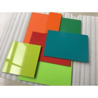 Weatherpoof Aluminium Composite Sheet / Aluminium Wall Sheets Easy To Maintain Manufactures