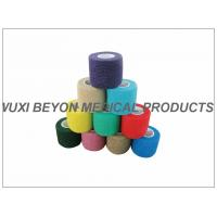 Quality Latex - free Cohesive Hand Elastic Bandage , Self - adhesive Breathable Bandages for sale