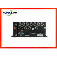 HD 1080P 4G Vehicle Mobile DVR , 8 Channel Car DVR For Vehicle Security Manufactures