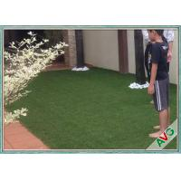 Quality V Shaped Green Outdoor Artificial Grass Comfortable Courtyard Artificial Grass Turf for sale
