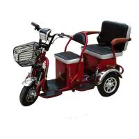 two people use three wheels mobility electric vehicle for disabled and handicapped  electric bicycle Manufactures