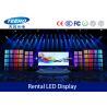 P4.8 HD Indoor Full Color LED Display Billboard For Rental , 3528 Black LED Chip 288×288mm Manufactures