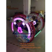 Best Amusement Park Outdoor Battery Mickey Outdoor Roller Happy Car Kids Rider for sale