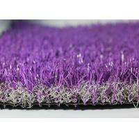Waterproof Healthy Coloured Fake Grass New Sport Generation UV Stability Manufactures