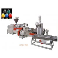 Double Stage Filler Masterbatch Production Line Temperature Control System Manufactures