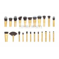 Quality Private Label Cosmetic Brushes Eyeliner Eye Brow Foundation Powder Liquid Cream 23 Pieces for sale