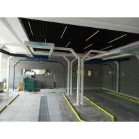 Semi-automatic touchless car wash equipment