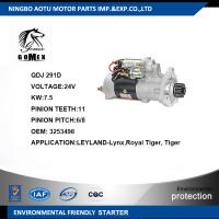 OEM 3253498 Commercial Vehicle Parts Electric Starter Motor For Engine Manufactures