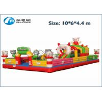Funny Inflatable Bounce Castle Kids Giant Obstacle Racer Bounce House Manufactures