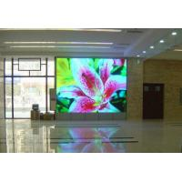 Manual 256 Brightness IP 54 indoor led display signs rental 1R1G1B 62500dot/m2 Manufactures