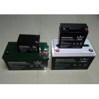 6FM150 12V 150AH Sealed Rechargeable Lead Acid Battery For Solar Off Grid System Manufactures