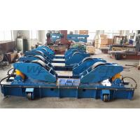 Hydraulic Fit Up Rotator 160Ton Wind Tower Growing line Move on Rails Manufactures