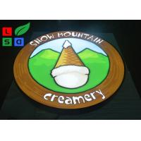 Quality Single Sided LED Outdoor Light Box 35W Power Logo Printed For Wall Mounted for sale