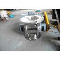 Round Or Square Rotary Airlock Valve Casting Material  Reducing Motor Manufactures