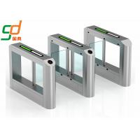 Quality Fingerprint RFID Swing Barrier Gates System,Biometrics Turnstile Solution for sale