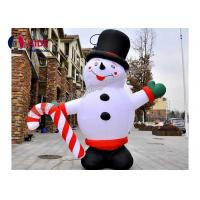 Happy Grinch Inflatable Holiday Decoration Christmas Advertise Hello Snowman Balloon Lights Manufactures