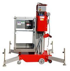 120Kg lightweight Portable Aerial Work Platform For Loading / Unloading Truck Manufactures