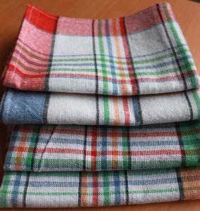 50*70Cotton Kitchen Tea Towels yarn-dyed plaid tea towel cover cloth napkins kitchen towel