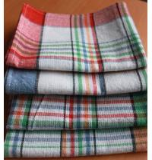 Quality 50*70Cotton Kitchen Tea Towels yarn-dyed plaid tea towel cover cloth napkins kitchen towel for sale
