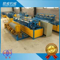 Chain Link Fence Making Machine , Chain Link Fencing Machine ISO9001 Certification Manufactures
